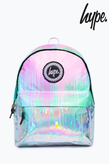 Hype. Multi Holo Drips Backpack