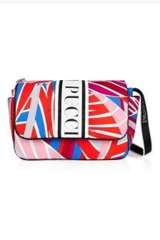 Emilio Pucci Baby Girls Orange Changing Bag