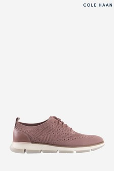 Cole Haan Pink Zerogrand Stitchlite Oxford Trainers