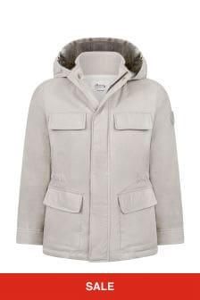 Bonpoint Boys Beige Jacket