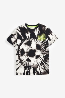 Tie Dye Football T-Shirt (3-16yrs)