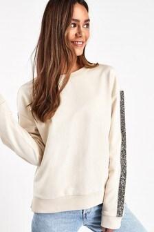 Embellished Detail Sweater