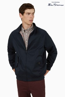 Ben Sherman Navy Signature Harrington Jacket