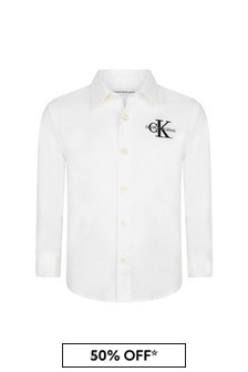 Calvin Klein Jeans White Shirt