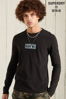 Superdry Core Logo Workwear Long Sleeve Top