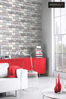 Industrial Brick Wallpaper by Arthouse