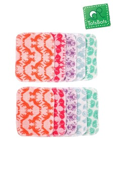 TotsBots Reusable Baby Wipes Matchy Ten Pack