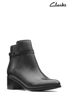 Clarks Black Poise Freya Boot