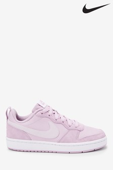 Nike Pink/White Court Borough PE Youth Trainers