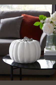 White Pumpkin Ornament