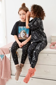 2 Pack Moon Child Legging Pyjamas (3-16yrs)