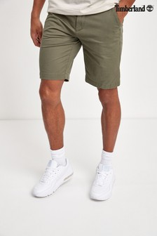 Timberland® Stretch Twill Straight Chino Shorts