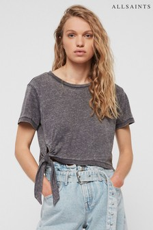 AllSaints Grey Tujen T-Shirt