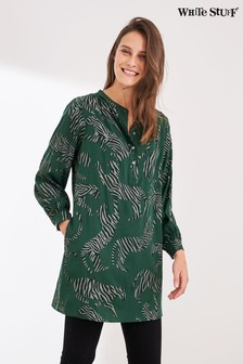 White Stuff Green Pantha Tunic