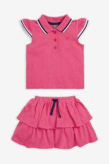 Polo Top And Skirt Set (3mths-7yrs)