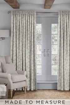 Carrara Linen Cream Made To Measure Curtains