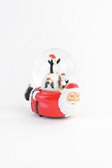 Paperchase Santa Snow Globe