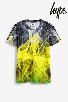 Hype. Neon Spiral Taped T-Shirt