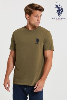 U.S. Polo Assn. Green Large DHM T-Shirt