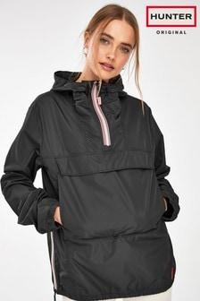 Hunter Original Black Waterproof Shell Jacket