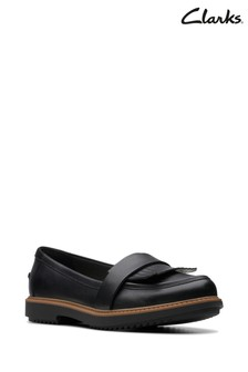 Clarks Black Raisie Theresa Shoes