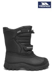 Trespass Black Dodo Snow Boots