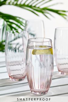 Set of 4 Shatterproof Tumblers