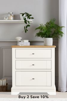 Hampton 3 Drawer Chest