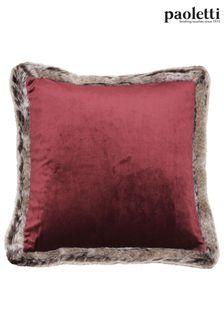 Riva Paoletti Red Kiruna Cushion