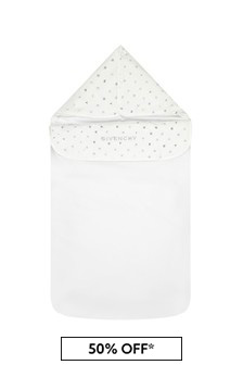 Givenchy Kids Baby White Cotton Sleep Bag