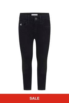 Calvin Klein Jeans Boys Black Denim Jeans