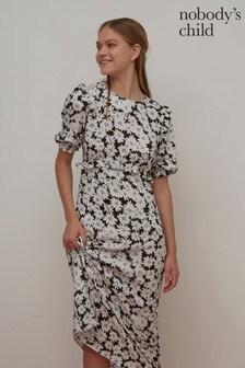 Nobody's Child Felicia Daisy Print Midi Dress