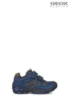 Geox Boys Buller Blue Shoe