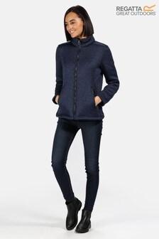 Regatta Blue Razia Full Zip Fleece Jacket