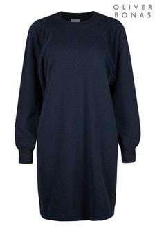 Oliver Bonas Blue Jumper Dress