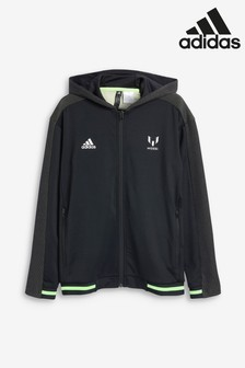 adidas Black Messi Track Top