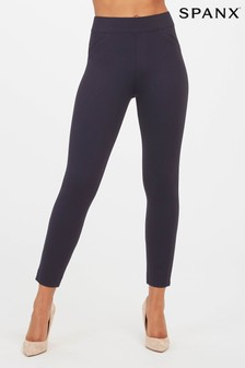 SPANX® Navy Backseam Leggings