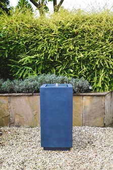 Outdoor Elite LED Square Water Feature by Ivyline
