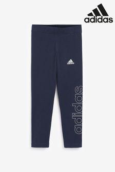 adidas Violet Linear Leggings