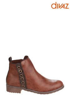 Divaz Demi Pull-On Ankle Boots