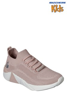 Skechers® Pink A Line Diamond Glider Trainers