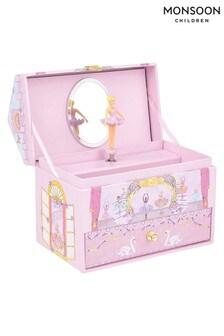 Monsoon Children Pink Pirouette Ballerina Jewellery Box