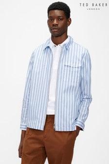 Ted Baker Revue Ls Zip Overshirt