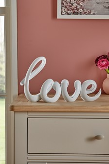 Ribbon Love Word