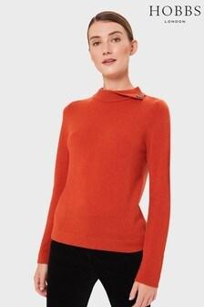 Hobbs Orange Talia Sweater