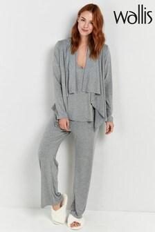 Wallis Grey Petite Jersey Trousers