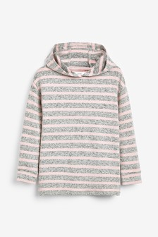 Stripe Cosy Hoody (3-16yrs)