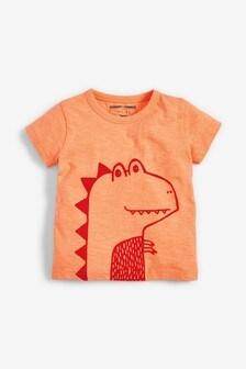 Short Sleeve Dino T-Shirt (3mths-7yrs)