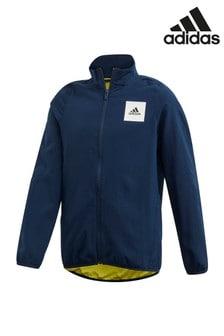adidas Navy Aero Jacket