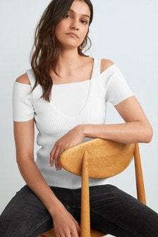 Bardot Mock Layer T-Shirt